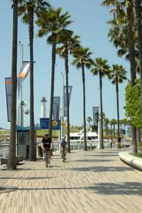 Лонг-Бич - крупнейший портовый город Калифорнии