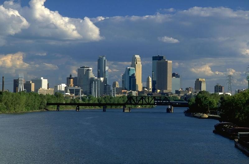 Миннеаполис - город озер