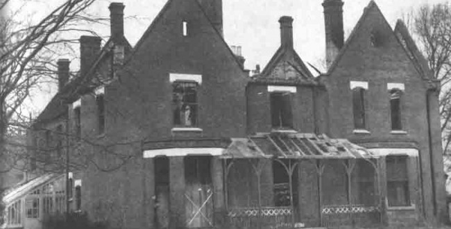 Дом священника в Борли, Эссекс, Англия