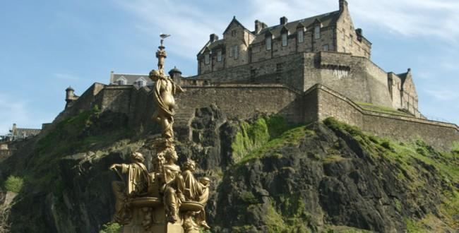 Эдинбургский замок, Эдинбург, Шотландия