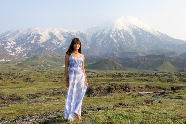 горный пейзаж Камчатки