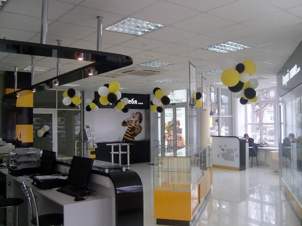 украшения-офисного-учреждения