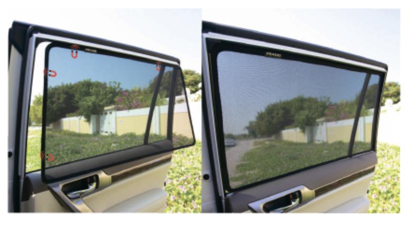 Шторки в авто. Защита от лишних глаз