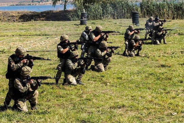 Особенности службы в украинской армии