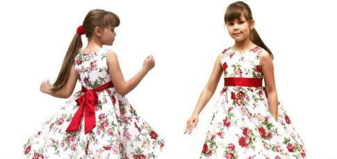 Модель платья на девочку 10 лет