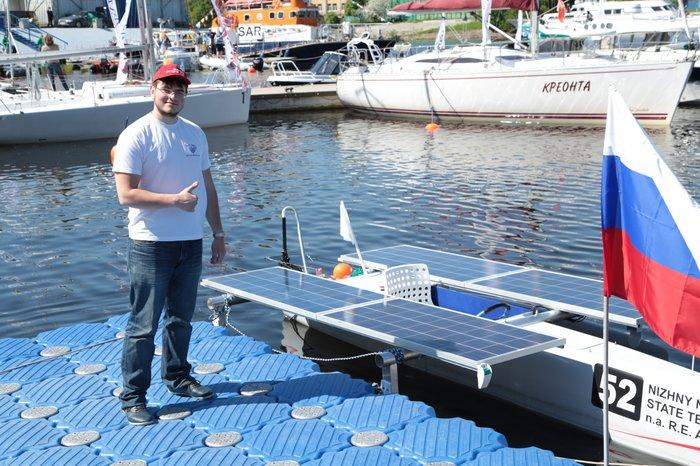 Инженерные соревнования «Солнечная регата»