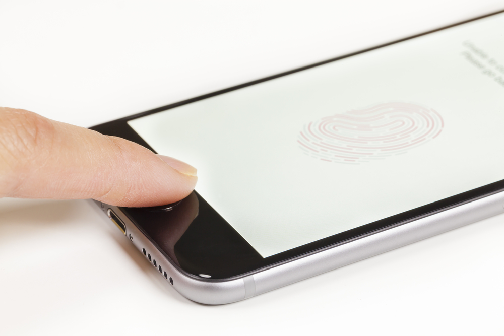 Using the Touch ID on an iPhone