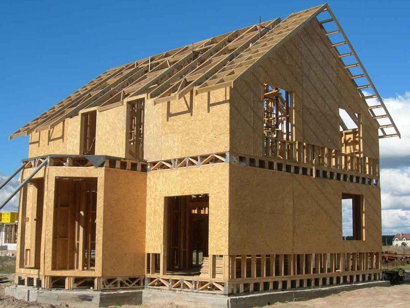 Каркасно-панельная технология строительства домов