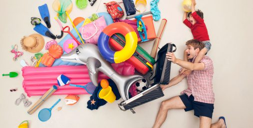 Минимальный багаж в путешествии с ребенком