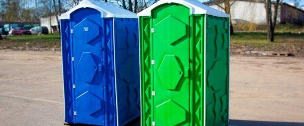 Плюсы аренды туалетных кабин